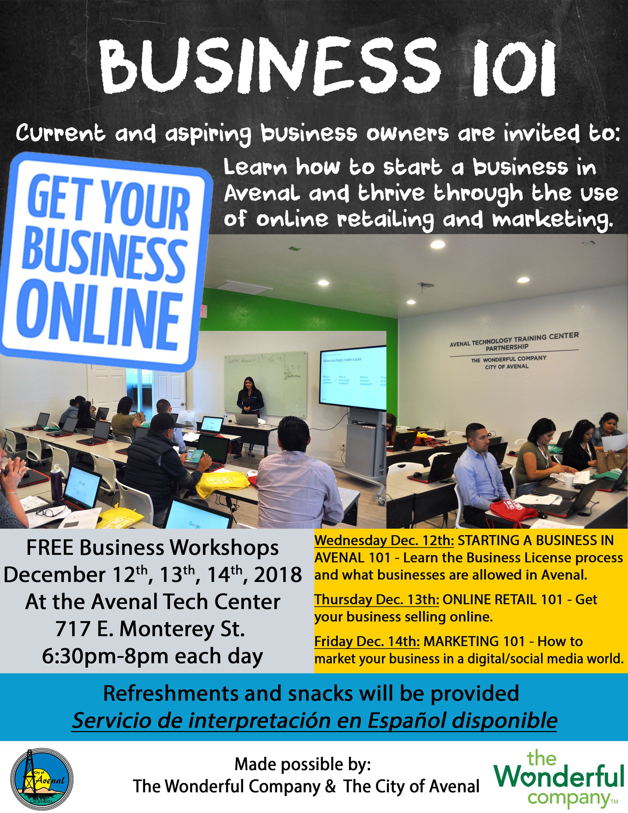 Dec 2018 Workshop Flyer 2