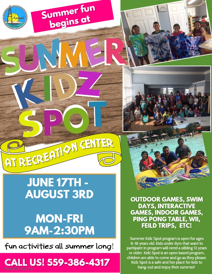 Revised Summer Kidz Spot
