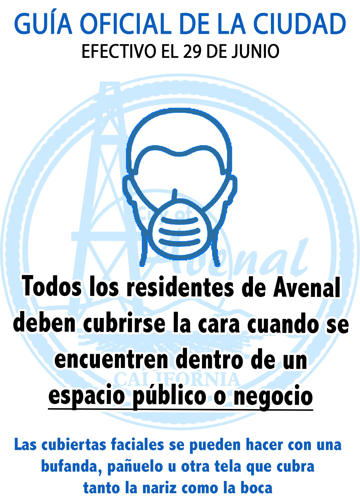 Avenal Mask Guidance ES ltr size