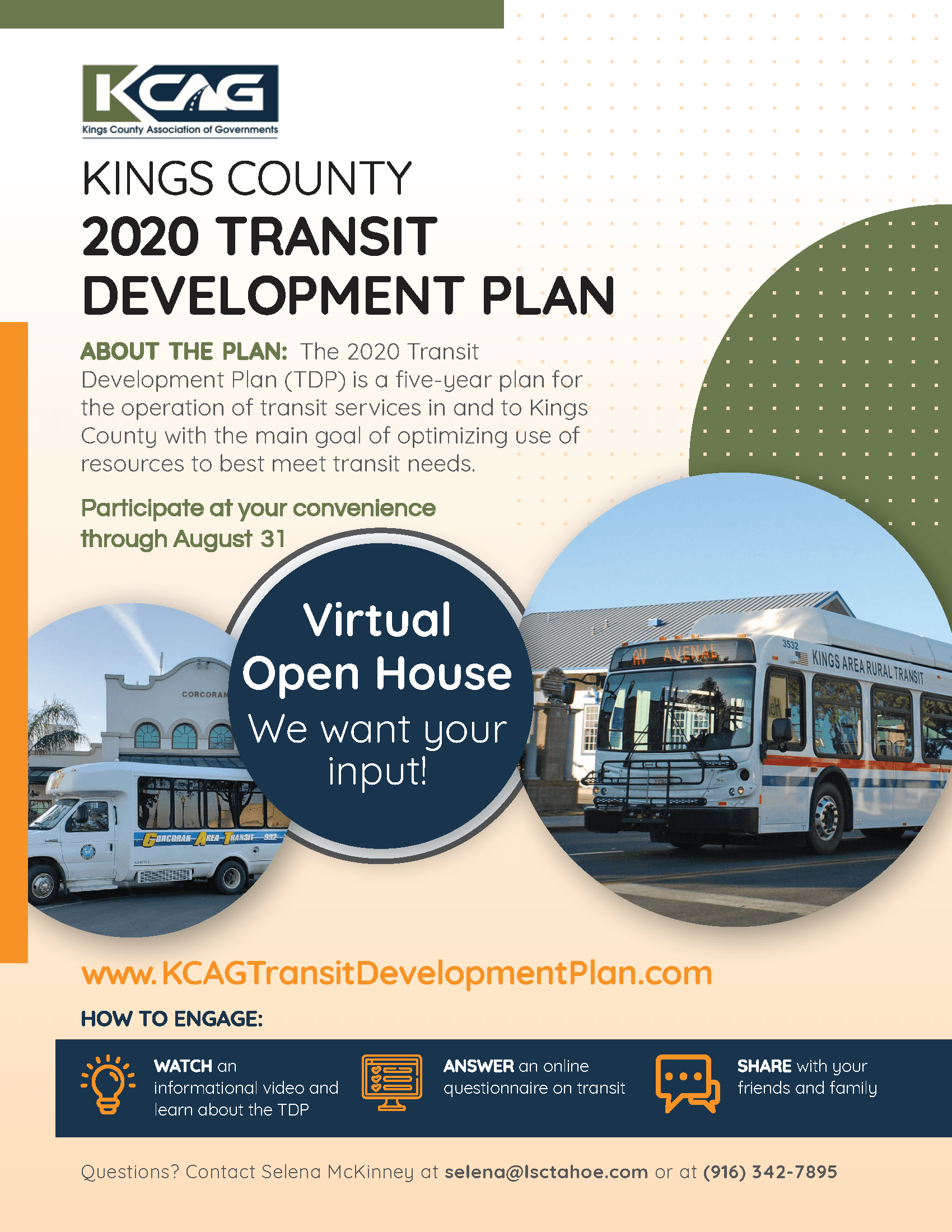Kings County Transit Plan Flyer - FINAL