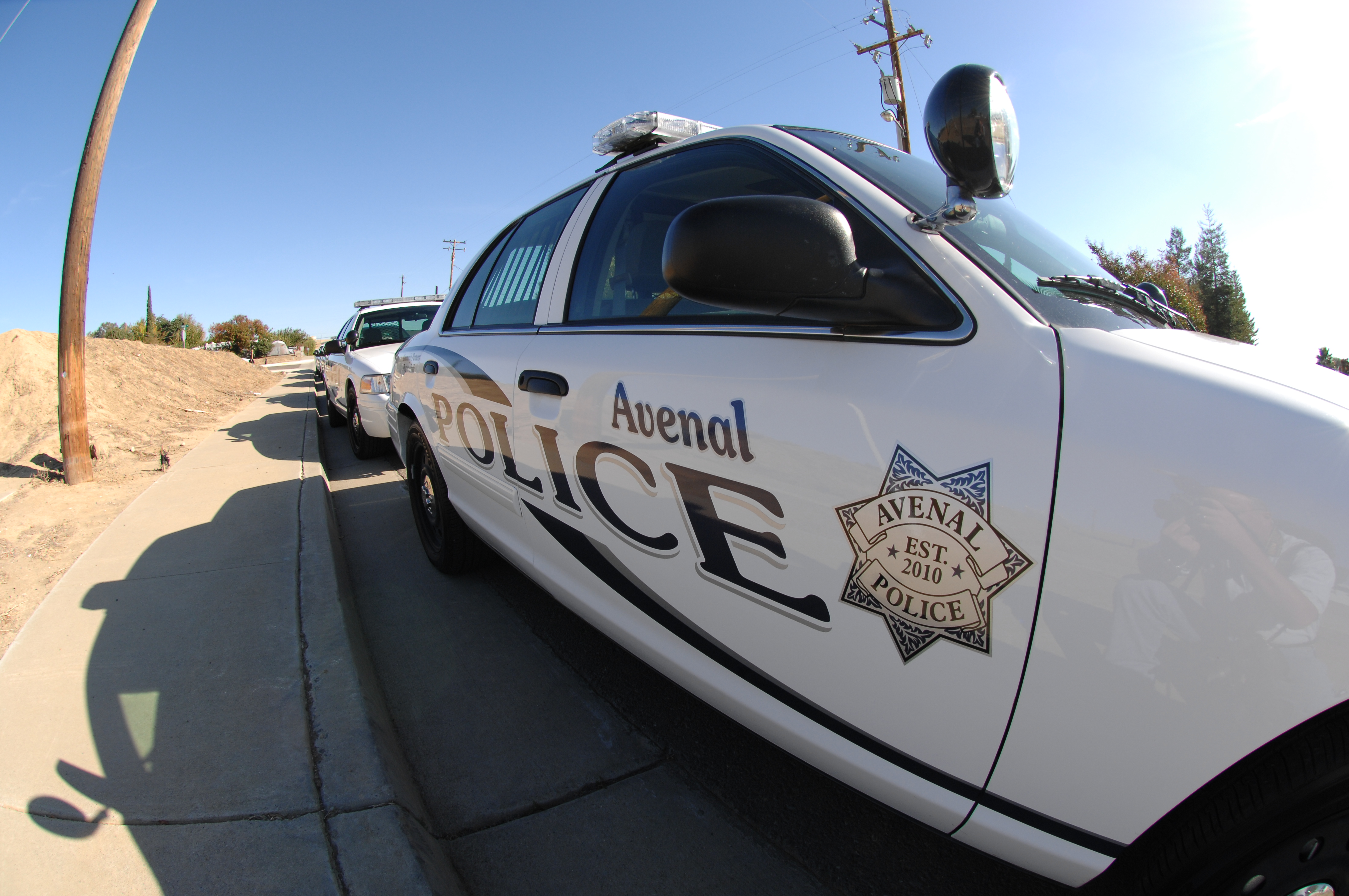 Avenal PD Patrol Unit